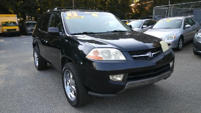 2002 ACURA MDX TOURING AWD 4DR SUV black abs - 4-wheel anti-theft system - alarm axle ratio - 4