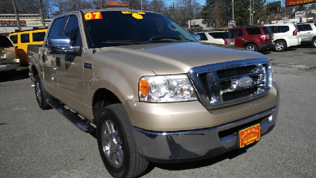 2007 FORD F-150 XLT 4DR SUPERCREW STYLESIDE 55 gold 2-stage unlocking doors abs - 4-wheel airb