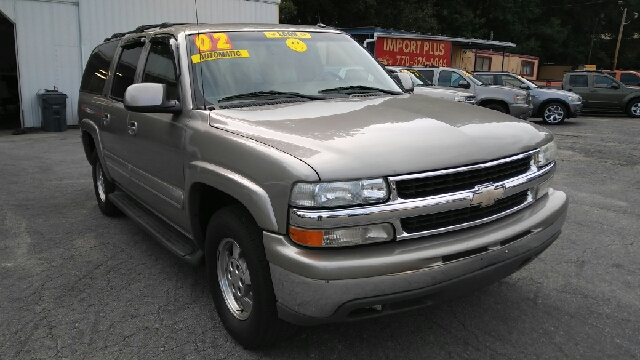 2002 CHEVROLET SUBURBAN 1500 4DR SUV champagne abs - 4-wheel anti-theft system - alarm axle rat