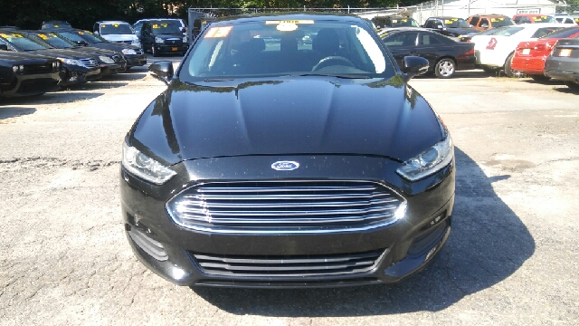 2013 FORD FUSION SE 4DR SEDAN black 2-stage unlocking doors abs - 4-wheel air filtration airba
