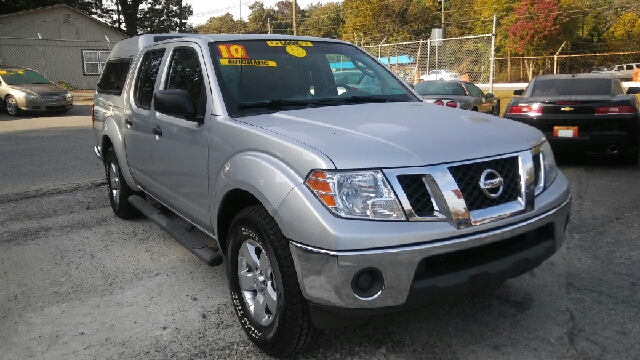 2010 NISSAN FRONTIER SE V6 4X2 4DR CREW CAB SWB PICKU silver abs - 4-wheel active head restraint