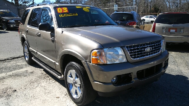 2003 FORD EXPLORER LIMITED 4DR SUV green abs - 4-wheel adjustable pedals - power anti-theft sys