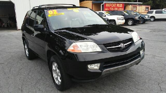 2002 ACURA MDX TOURING WNAVI AWD 4DR SUV WNAV black abs - 4-wheel anti-theft system - alarm a