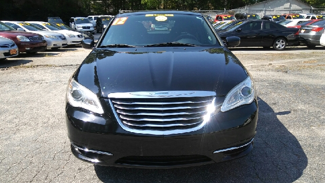2012 CHRYSLER 200 LX 4DR SEDAN black 2-stage unlocking doors abs - 4-wheel active head restrain