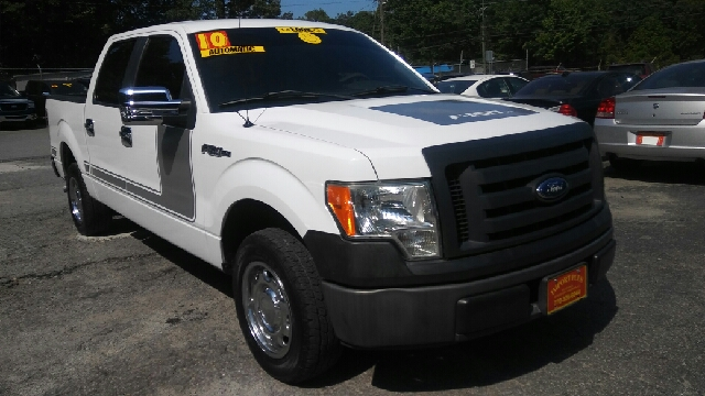 2010 FORD F-150 XLT 4X2 4DR SUPERCREW STYLESIDE white 2-stage unlocking doors abs - 4-wheel air