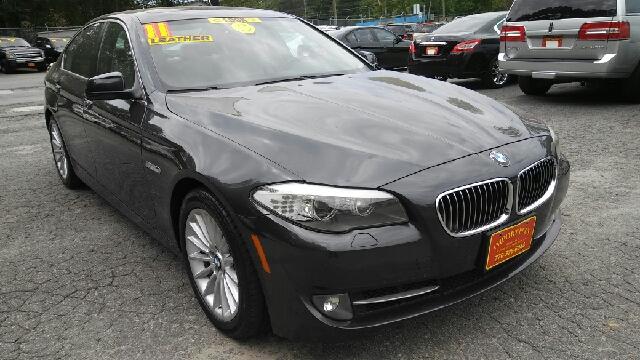 2011 BMW 5 SERIES 535I 4DR SEDAN gray 2-stage unlocking doors abs - 4-wheel active head restrai