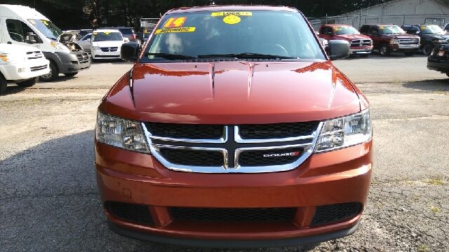 2014 DODGE JOURNEY AMERICAN VALUE PACKAGE 4DR SUV orange 2-stage unlocking doors abs - 4-wheel