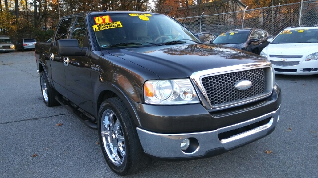 2007 FORD F-150 FX2 4DR SUPERCREW STYLESIDE 55 dark gray 2-stage unlocking doors abs - 4-wheel