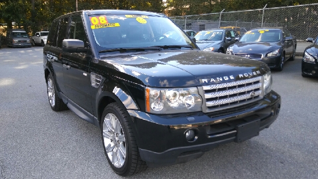 2008 LAND ROVER RANGE ROVER SPORT SUPERCHARGED 4X4 4DR SUV black 4wd selector - electronic hi-lo