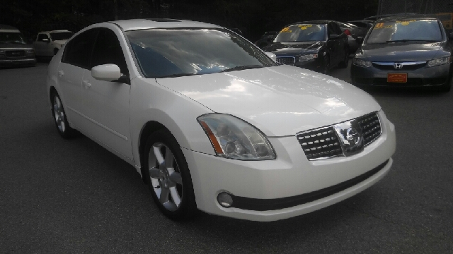 2006 NISSAN MAXIMA 35 SE 4DR SEDAN WAUTOMATIC white abs - 4-wheel active head restraints - dua