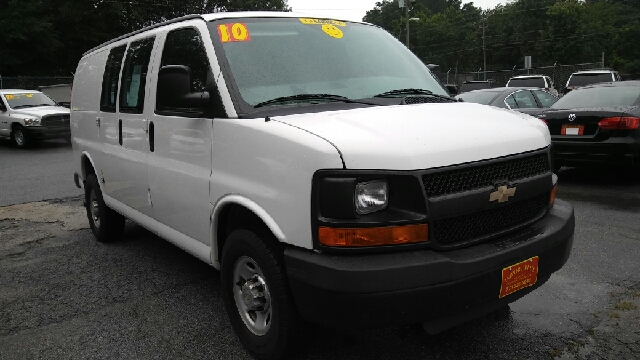 2010 CHEVROLET EXPRESS CARGO 2500 3DR CARGO VAN W 1WT white abs - 4-wheel airbag deactivation -
