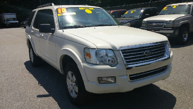 2010 FORD EXPLORER XLT 4X2 4DR SUV white abs - 4-wheel airbag deactivation - occupant sensing pa