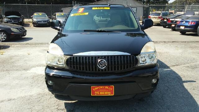 2007 BUICK RENDEZVOUS CXL 4DR SUV black 2-stage unlocking doors abs - 4-wheel airbag deactivati