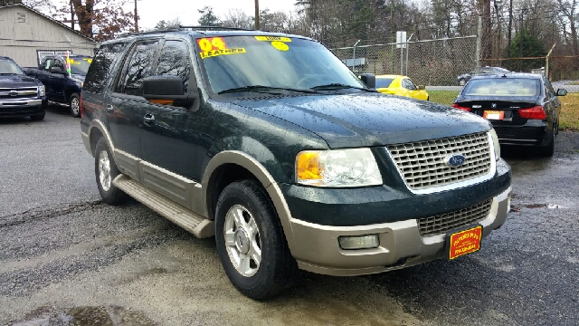 2004 FORD EXPEDITION EDDIE BAUER 4DR SUV green abs - 4-wheel adjustable pedals - power anti-the