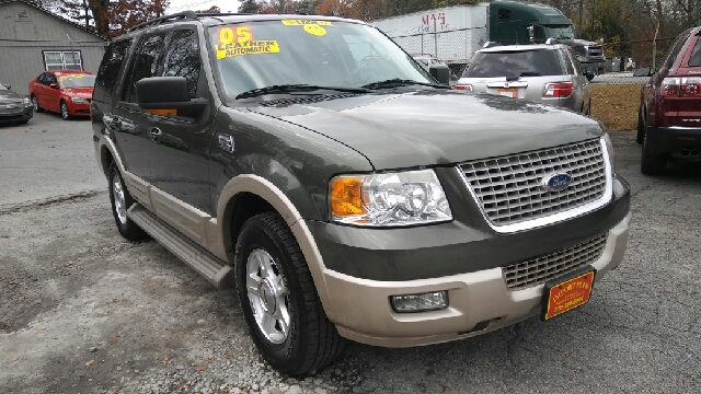 2005 FORD EXPEDITION EDDIE BAUER 4DR SUV green abs - 4-wheel adjustable pedals - power anti-the