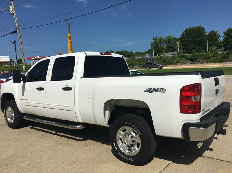 2010 Chevrolet Silverado 2500HD 4x4 LT 4dr Crew Cab SB - Jefferson City MO
