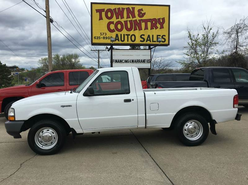 2000 Ford Ranger 2dr XL Standard Cab SB - Jefferson City MO