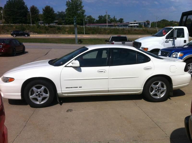 2002 Pontiac Grand Prix SE 4dr Sedan - Jefferson City MO