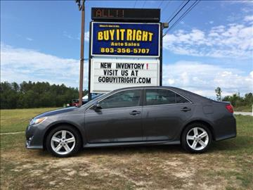 2013 Toyota Camry for sale in Lexington, SC