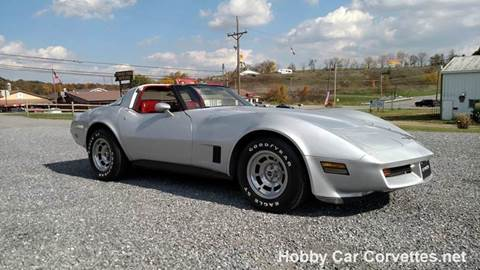 1981 chevrolet corvette for sale in martinsburg pa. Cars Review. Best American Auto & Cars Review