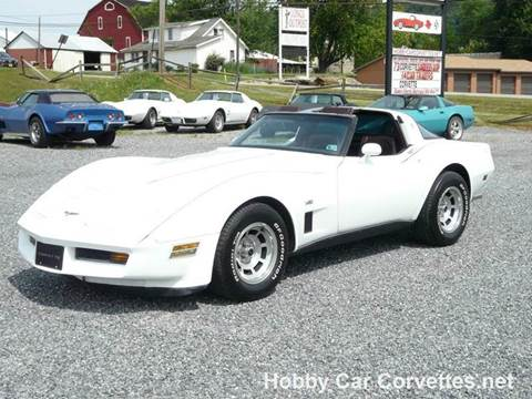 1980 Chevrolet Corvette for sale in Martinsburg, PA
