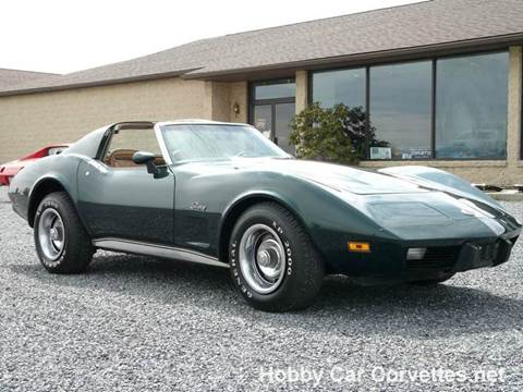 Corvette Stingray,1975, 350, 4 speed,side pipes.Test ride. WEST ...