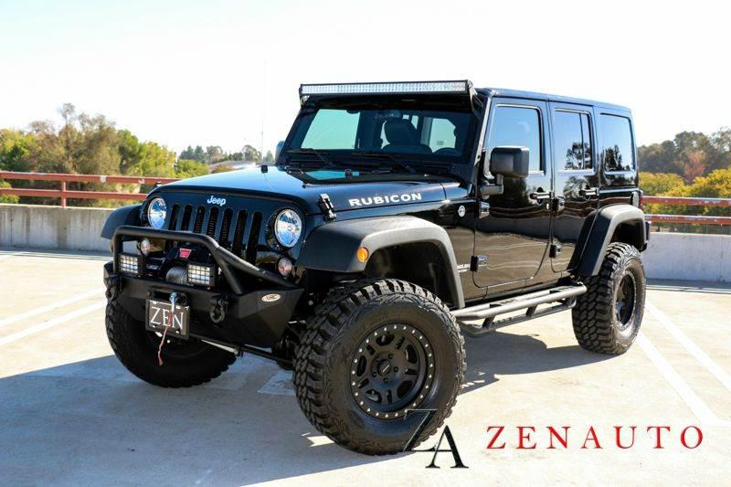 2015 jeep wrangler unlimited rubicon 4x4 4dr suv 4 door hardtop custom lifted winch 4 10 no. Black Bedroom Furniture Sets. Home Design Ideas