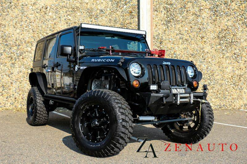 2011 jeep wrangler unlimited rubicon 4x4 4dr suv hardtop custom 6 pro comp lift leds in. Black Bedroom Furniture Sets. Home Design Ideas