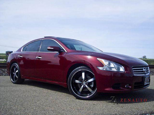 2009 nissan maxima sport sv pkg 20 39 wheels in sacramento ca zen auto sales. Black Bedroom Furniture Sets. Home Design Ideas