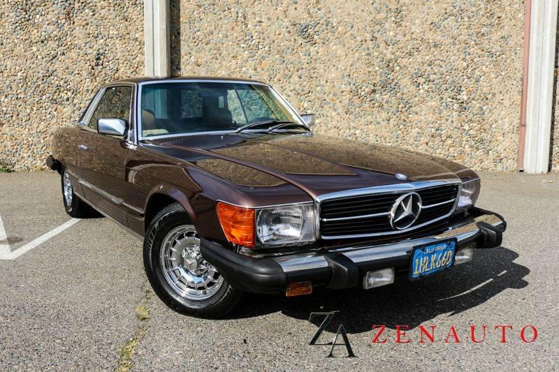 1981 mercedes benz 380 class 380slc 2dr coupe in for Mercedes benz dealership sacramento ca