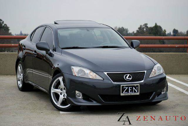 2007 lexus is 250 is 250 sport premium pkg in sacramento ca zen auto sales. Black Bedroom Furniture Sets. Home Design Ideas