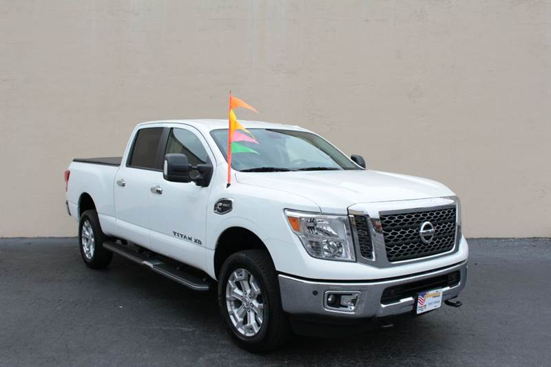 2016 nissan titan xd 4x2 sv 4dr crew cab pickup diesel in doraville ga el compadre trucks. Black Bedroom Furniture Sets. Home Design Ideas