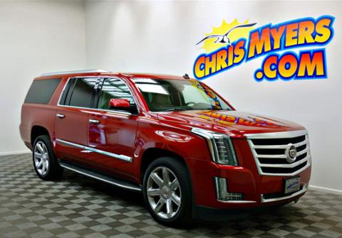 2015 Cadillac Escalade ESV for sale in Daphne, AL