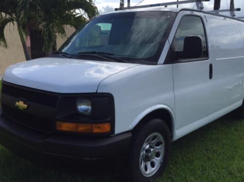 2013 Chevrolet Express Cargo for sale in Miami, FL