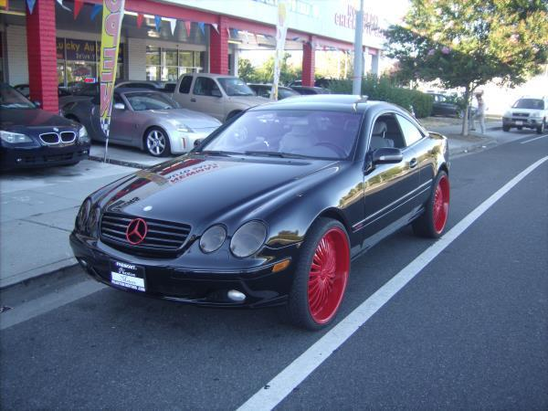 2001 mercedes benz cl class for sale in fremont ca for 2001 mercedes benz cl600