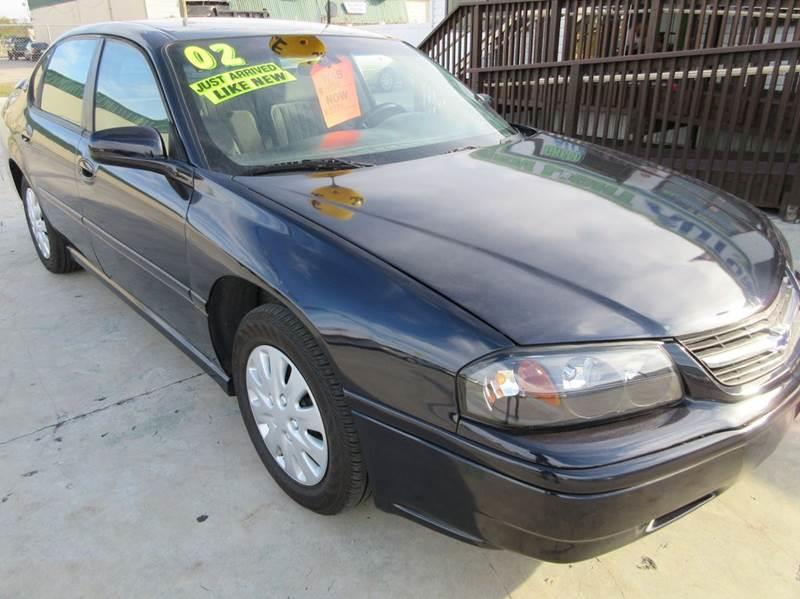 2002 Chevrolet Impala Base 4dr Sedan - Punta Gorda FL