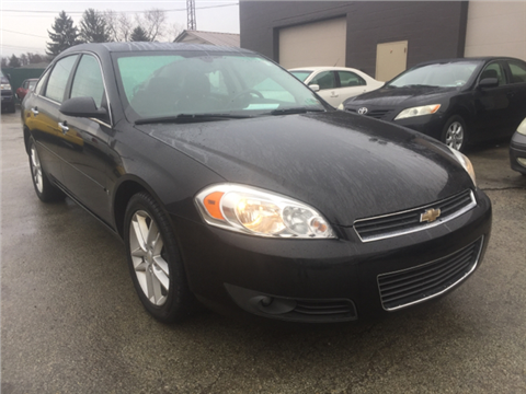 2008 Chevrolet Impala for sale in Uniontown, PA