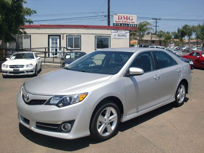 Toyota Camry Average Mpg 2014 Toyota Camry For Sale In San