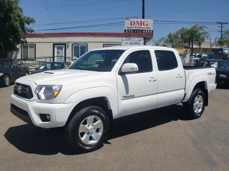 2014 toyota tacoma for sale in san diego ca. Black Bedroom Furniture Sets. Home Design Ideas