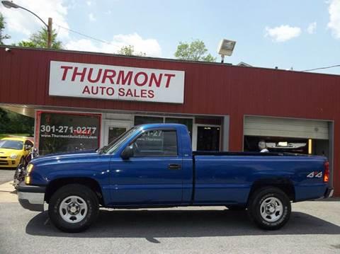 2004 Chevrolet Silverado 1500 for sale in Thurmont, MD