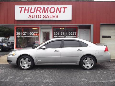 2008 Chevrolet Impala for sale in Thurmont, MD