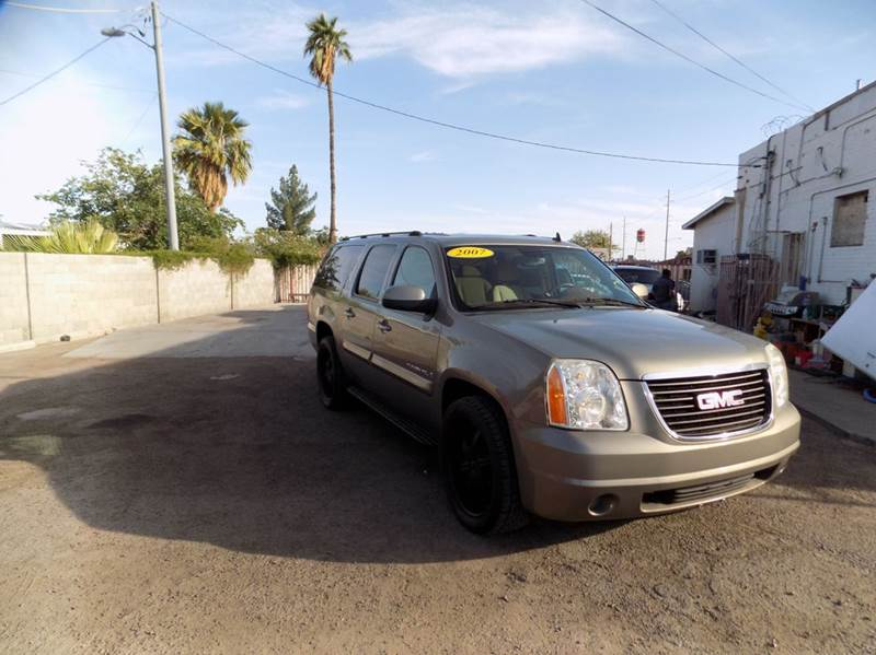 2007 GMC YUKON XL SLT 1500 4DR SUV W4SA W 1 PACK brown this amazing 2008 gmc yukon xl 1500 sle i