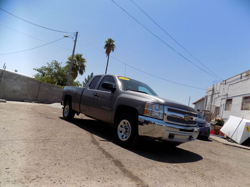 2012 CHEVROLET SILVERADO 1500 WORK TRUCK 4X4 4DR EXTENDED CAB gray financing available all price