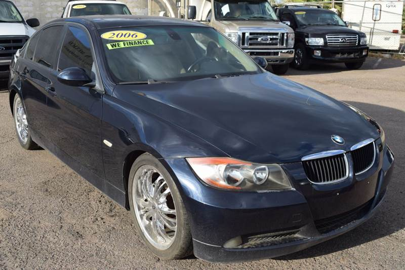 2006 BMW 3 SERIES 325I 4DR SEDAN blue this bmw 325i series car is equipped with a  30l i6 engine