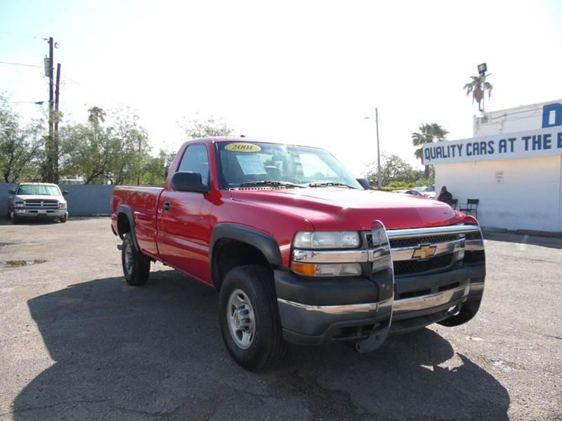 2001 CHEVROLET SILVERADO 2500HD BASE 2DR STANDARD CAB 2WD LB red 2001 chevrolet silverado 2500 hd