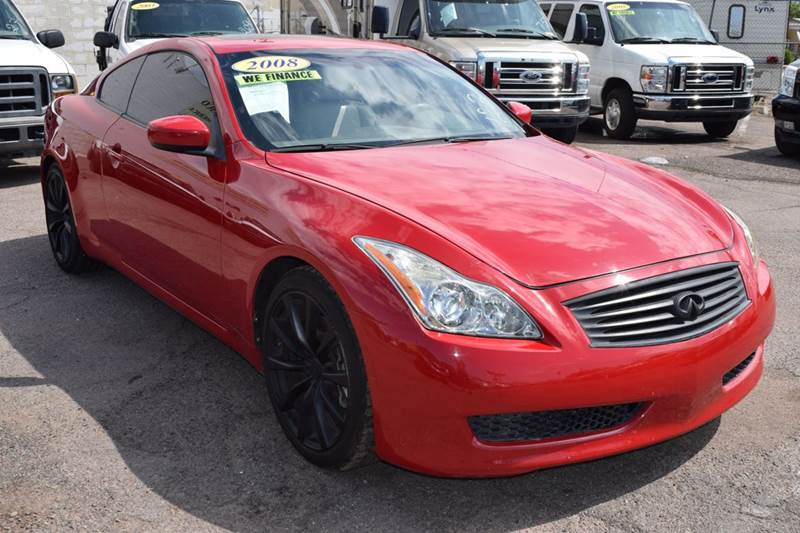 2008 INFINITI G37 SPORT 2DR COUPE red 2008 infiniti g37 sport 2dr coupe 37l v6 automatic 6 spee