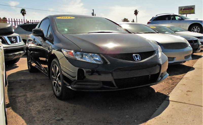 2013 HONDA CIVIC EX 2DR COUPE 5A black this 2013 honda civic ex has all the amenities you want in