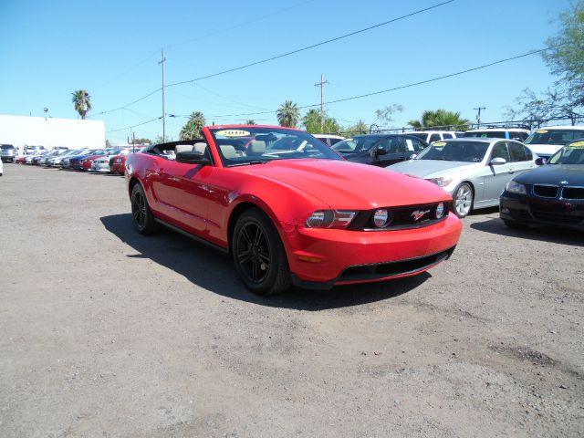 2010 FORD MUSTANG V6 2DR CONVERTIBLE red 2010 ford mustang convertible 40l red 2 door comes wi
