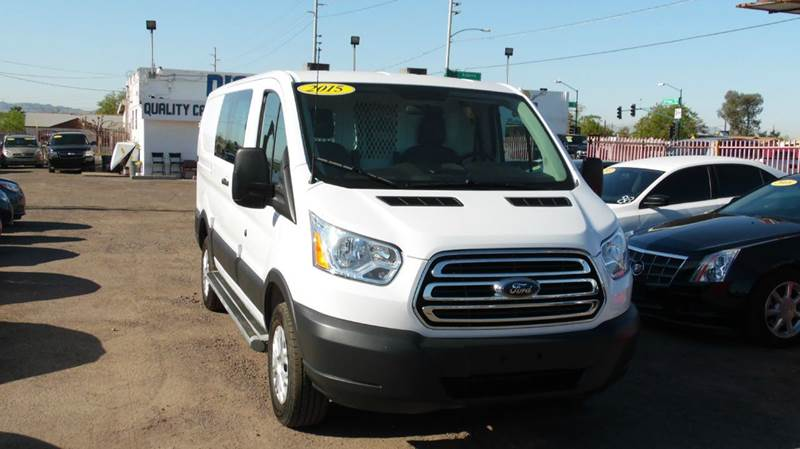 2015 FORD TRANSIT CARGO 250 3DR SWB LOW ROOF CARGO VAN W white take a look at this great looking