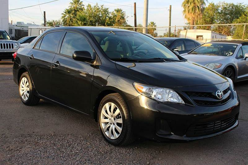 2012 TOYOTA COROLLA LE 4DR SEDAN 4A black abs - 4-wheel active head restraints - dual front air